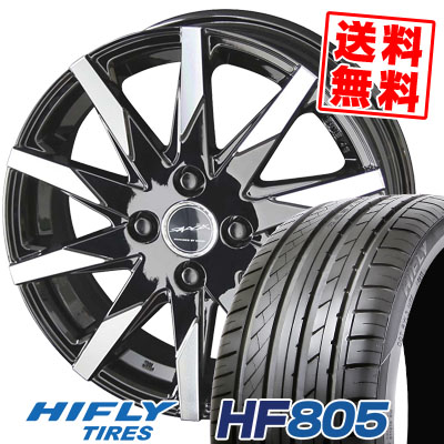 205/55R15 88V HIFLY ハイフライ HF805 HF805 SMACK SFIDA スマック スフィーダ サマータイヤホイール4本セット