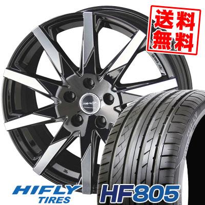 215/45R18 93W XL HIFLY ハイフライ HF805 HF805 SMACK SFIDA スマック スフィーダ サマータイヤホイール4本セット【取付対象】