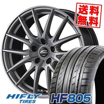 215/55R16 97V XL HIFLY ハイフライ HF805 エイチエフ ハチマルゴ SCHNEIDER SQ27 シュナイダー SQ27 サマータイヤホイール4本セット