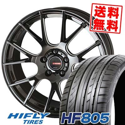 235/45R18 98W XL HIFLY ハイフライ HF805 エイチエフ ハチマルゴ CIRCLAR RM-7 サーキュラー RM-7 サマータイヤホイール4本セット