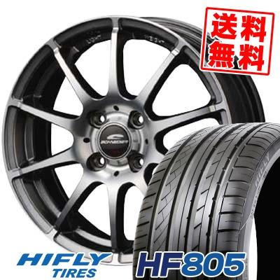 205/55R15 88V HIFLY ハイフライ HF805 HF805 SCHNEDER StaG シュナイダー スタッグ サマータイヤホイール4本セット