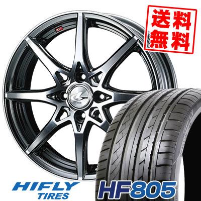 205/45R17 88W XL HIFLY ハイフライ HF805 エイチエフ ハチマルゴ weds LEONIS SV ウェッズ レオニス SV サマータイヤホイール4本セット