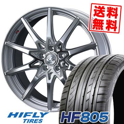 245/45R19 102W XL HIFLY ハイフライ HF805 エイチエフ ハチマルゴ weds LEONIS SV ウェッズ レオニス SV サマータイヤホイール4本セット