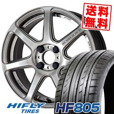 205/45R16 87W XL HIFLY ハイフライ HF805 エイチエフ ハチマルゴ WORK EMOTION T7R ワーク エモーション T7R サマータイヤホイール4本セット