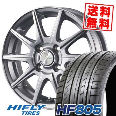 165/50R15 72V HIFLY ハイフライ HF805 エイチエフ ハチマルゴ V-EMOTION SR10 Vエモーション SR10 サマータイヤホイール4本セット
