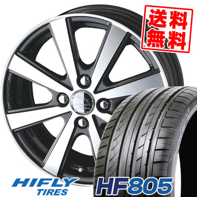 195/45R15 82V XL HIFLY ハイフライ HF805 HF805 SMACK VIR スマック VI-R サマータイヤホイール4本セット