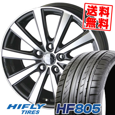 205/55R17 95W XL HIFLY ハイフライ HF805 HF805 SMACK VIR スマック VI-R サマータイヤホイール4本セット