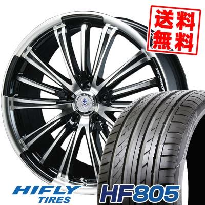 225/35R18 87W XL HIFLY ハイフライ HF805 HF805 BAHNS TECK VR-01 バーンズテック VR01 サマータイヤホイール4本セット