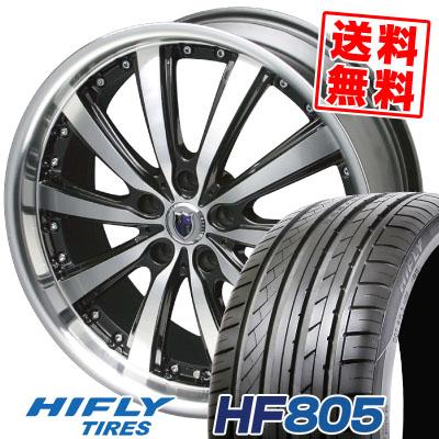 245/35R19 93W XL HIFLY ハイフライ HF805 HF805 STEINER VS-5 シュタイナー VS5 サマータイヤホイール4本セット