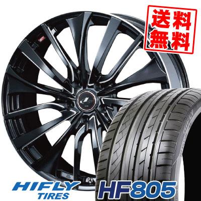 215/45R18 93W XL HIFLY ハイフライ HF805 HF805 weds LEONIS VT ウエッズ レオニス VT サマータイヤホイール4本セット
