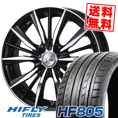 205/55R15 88V HIFLY ハイフライ HF805 HF805 weds LEONIS VX ウエッズ レオニス VX サマータイヤホイール4本セット【取付対象】