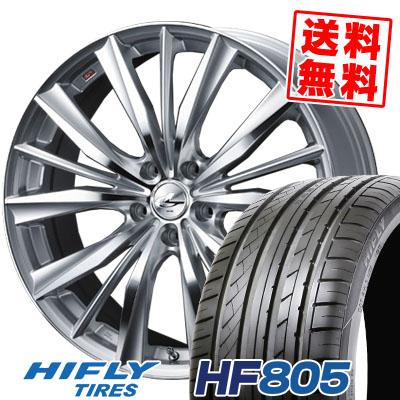 235/45R18 98W XL HIFLY ハイフライ HF805 エイチエフ ハチマルゴ weds LEONIS VX ウエッズ レオニス VX サマータイヤホイール4本セット