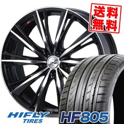 235/45R18 98W XL HIFLY ハイフライ HF805 エイチエフ ハチマルゴ weds LEONIS WX ウエッズ レオニス WX サマータイヤホイール4本セット
