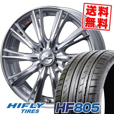 195/45R15 82V XL HIFLY ハイフライ HF805 HF805 weds LEONIS WX ウエッズ レオニス WX サマータイヤホイール4本セット