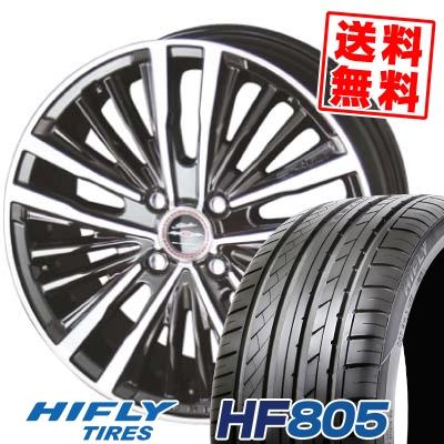 205/45R17 88W XL HIFLY ハイフライ HF805 HF805 SHALLEN XR-75 MONOBLOCK シャレン XR75 モノブロック サマータイヤホイール4本セット