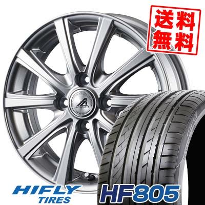 195/45R16 84V XL HIFLY ハイフライ HF805 エイチエフ ハチマルゴ AZ sports YL-10 AZスポーツ YL-10 サマータイヤホイール4本セット