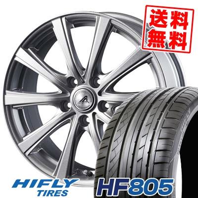 235/45R18 98W XL HIFLY ハイフライ HF805 エイチエフ ハチマルゴ AZ sports YL-10 AZスポーツ YL-10 サマータイヤホイール4本セット【取付対象】