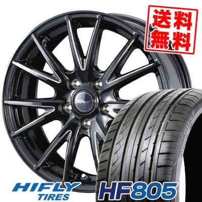215/55R16 HIFLY ハイフライ HF805 HF805 weds RIZLEY ZEFICE X ウェッズ ライツレー ゼファイス エックス サマータイヤホイール4本セット