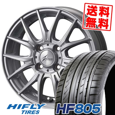 205/55R15 88V HIFLY ハイフライ HF805 エイチエフ ハチマルゴ ZEPHYR M2 ゼファー M2 サマータイヤホイール4本セット