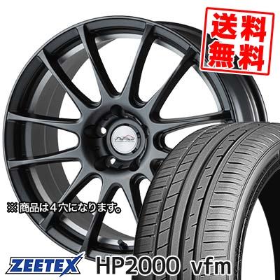 205/45R17 88W XL ZEETEX ジーテックス HP2000vfm HP2000vfm 5ZIGEN PRORACER Z1 5ジゲン プロレーサー Z1 サマータイヤホイール4本セット