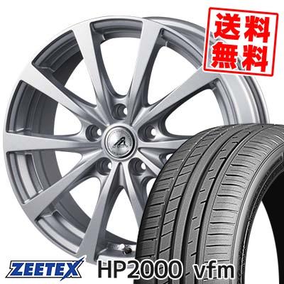 215/45R17 91W XL ZEETEX ジーテックス HP2000vfm HP2000vfm AZ SPORTS EX10 AZスポーツ EX10 サマータイヤホイール4本セット