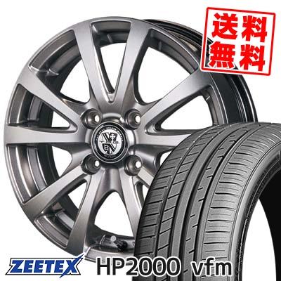 205/50R16 91W XL ZEETEX ジーテックス HP2000vfm HP2000vfm TRG-BAHN TRG バーン サマータイヤホイール4本セット