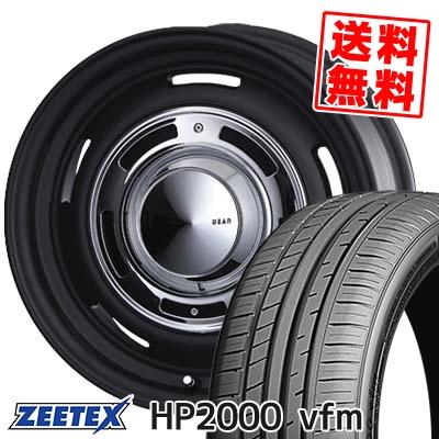 225/55R16 99Y XL ZEETEX ジーテックス HP2000vfm HP2000vfm DEAN CrossCountry ディーン クロスカントリー サマータイヤホイール4本セット