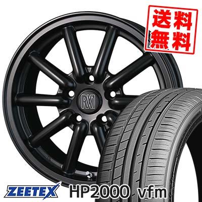 225/55R16 99Y XL ZEETEX ジーテックス HP2000vfm HP2000vfm Fenice RX1 フェニーチェ RX1 サマータイヤホイール4本セット