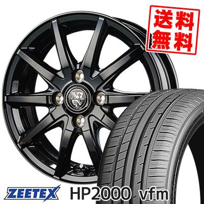 205/55R15 88V ZEETEX ジーテックス HP2000vfm HP2000vfm TRG-GB10 TRG GB10 サマータイヤホイール4本セット
