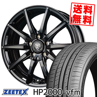215/60R17 96H ZEETEX ジーテックス HP2000vfm HP2000vfm TRG-GB10 TRG GB10 サマータイヤホイール4本セット