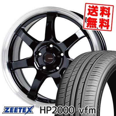225/45R17 94Y XL ZEETEX ジーテックス HP2000vfm HP2000vfm G.speed P-03 ジースピード P-03 サマータイヤホイール4本セット【取付対象】