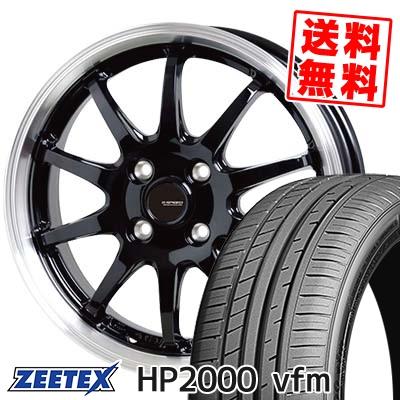 205/50R16 91W XL ZEETEX ジーテックス HP2000vfm HP2000vfm G.speed P-04 ジースピード P-04 サマータイヤホイール4本セット