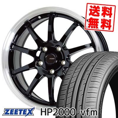 225/45R17 94Y XL ZEETEX ジーテックス HP2000vfm HP2000vfm G.speed P-04 ジースピード P-04 サマータイヤホイール4本セット【取付対象】