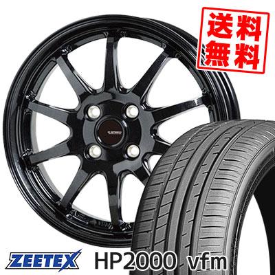 205/55R15 88V ZEETEX ジーテックス HP2000vfm HP2000vfm G.speed G-04 Gスピード G-04 サマータイヤホイール4本セット