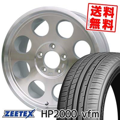 225/55R16 99Y XL ZEETEX ジーテックス HP2000vfm HP2000vfm JIMLINE TYPE2 ジムライン タイプ2 サマータイヤホイール4本セット