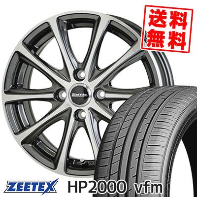 205/40R17 84W XL ZEETEX ジーテックス HP2000vfm HP2000vfm Laffite LE-04 ラフィット LE-04 サマータイヤホイール4本セット