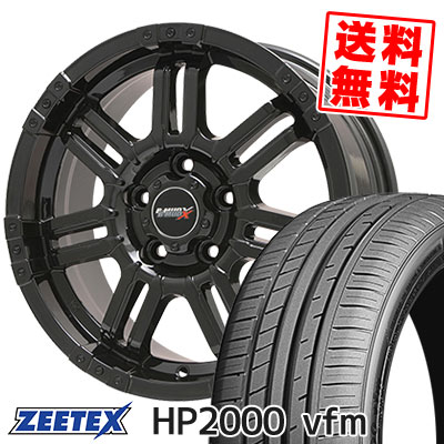 215/60R17 96H ZEETEX ジーテックス HP2000vfm HP2000vfm B-MUD X Bマッド エックス サマータイヤホイール4本セット