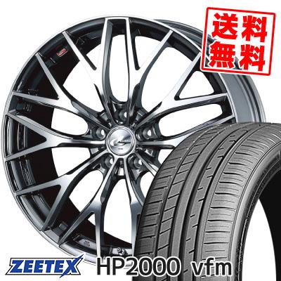 215/60R17 96H ZEETEX ジーテックス HP2000vfm HP2000vfm weds LEONIS MX ウェッズ レオニス MX サマータイヤホイール4本セット