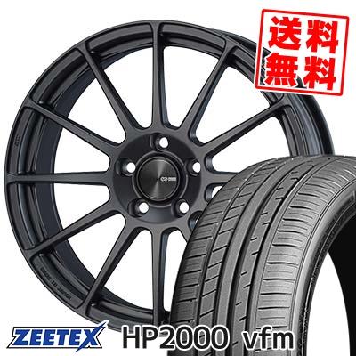 245/45R18 100Y XL ZEETEX ジーテックス HP2000vfm HP2000vfm ENKEI PF03 エンケイ PF03 サマータイヤホイール4本セット