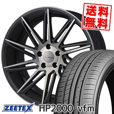 245/45R18 100Y XL ZEETEX ジーテックス HP2000vfm HP2000vfm MONZA Warwic REVOX モンツァ ワーウィック レヴォックス サマータイヤホイール4本セット