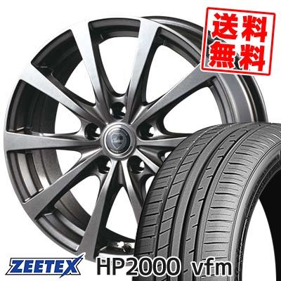 215/45R17 91W XL ZEETEX ジーテックス HP2000vfm HP2000vfm CLAIRE RG10 クレール RG10 サマータイヤホイール4本セット
