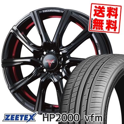 215/45R16 90W XL ZEETEX ジーテックス HP2000vfm HP2000vfm WEDS NOVARIS ROHGUE CB ウェッズ ノヴァリス ローグ CB サマータイヤホイール4本セット