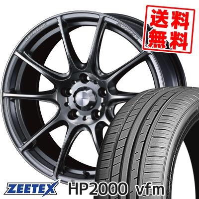 235/45R18 98Y XL ZEETEX ジーテックス HP2000vfm HP2000vfm WedsSport SA-25R ウェッズスポーツ SA-25R サマータイヤホイール4本セット【取付対象】