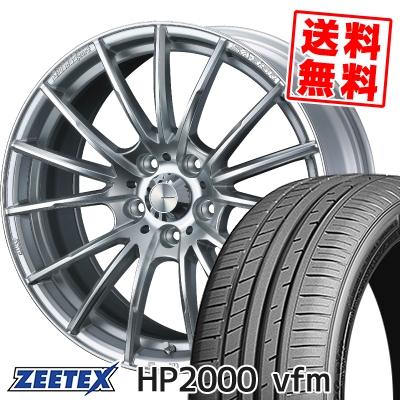 215/50R17 95V XL ZEETEX ジーテックス HP2000vfm HP2000vfm WedsSport SA-35R ウェッズスポーツ SA-35R サマータイヤホイール4本セット【取付対象】