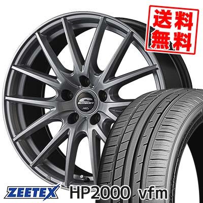 215/45R17 91W XL ZEETEX ジーテックス HP2000vfm HP2000vfm SCHNEIDER SQ27 シュナイダー SQ27 サマータイヤホイール4本セット