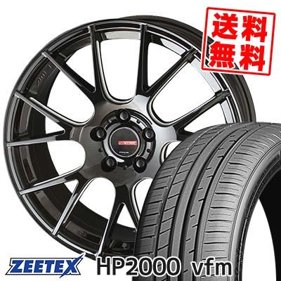 205/55R17 95W XL ZEETEX ジーテックス HP2000vfm HP2000vfm CIRCLAR RM-7 サーキュラー RM-7 サマータイヤホイール4本セット