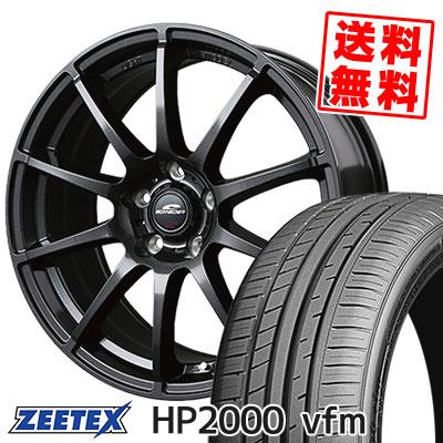 215/35R18 84Y XL ZEETEX ジーテックス HP2000vfm HP2000vfm SCHNEDER StaG シュナイダー スタッグ サマータイヤホイール4本セット