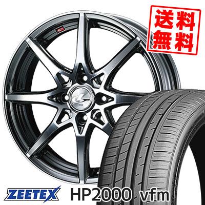 215/45R16 90W XL ZEETEX ジーテックス HP2000vfm HP2000vfm weds LEONIS SV ウェッズ レオニス SV サマータイヤホイール4本セット