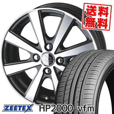 205/50R16 91W XL ZEETEX ジーテックス HP2000vfm HP2000vfm SMACK VIR スマック VI-R サマータイヤホイール4本セット