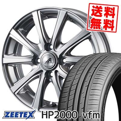 205/55R15 88V ZEETEX ジーテックス HP2000vfm HP2000vfm AZ sports YL-10 AZスポーツ YL-10 サマータイヤホイール4本セット